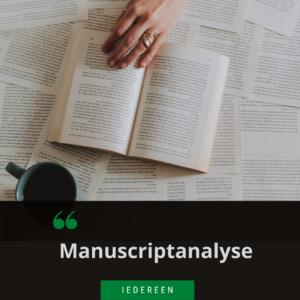manuscriptanalyse